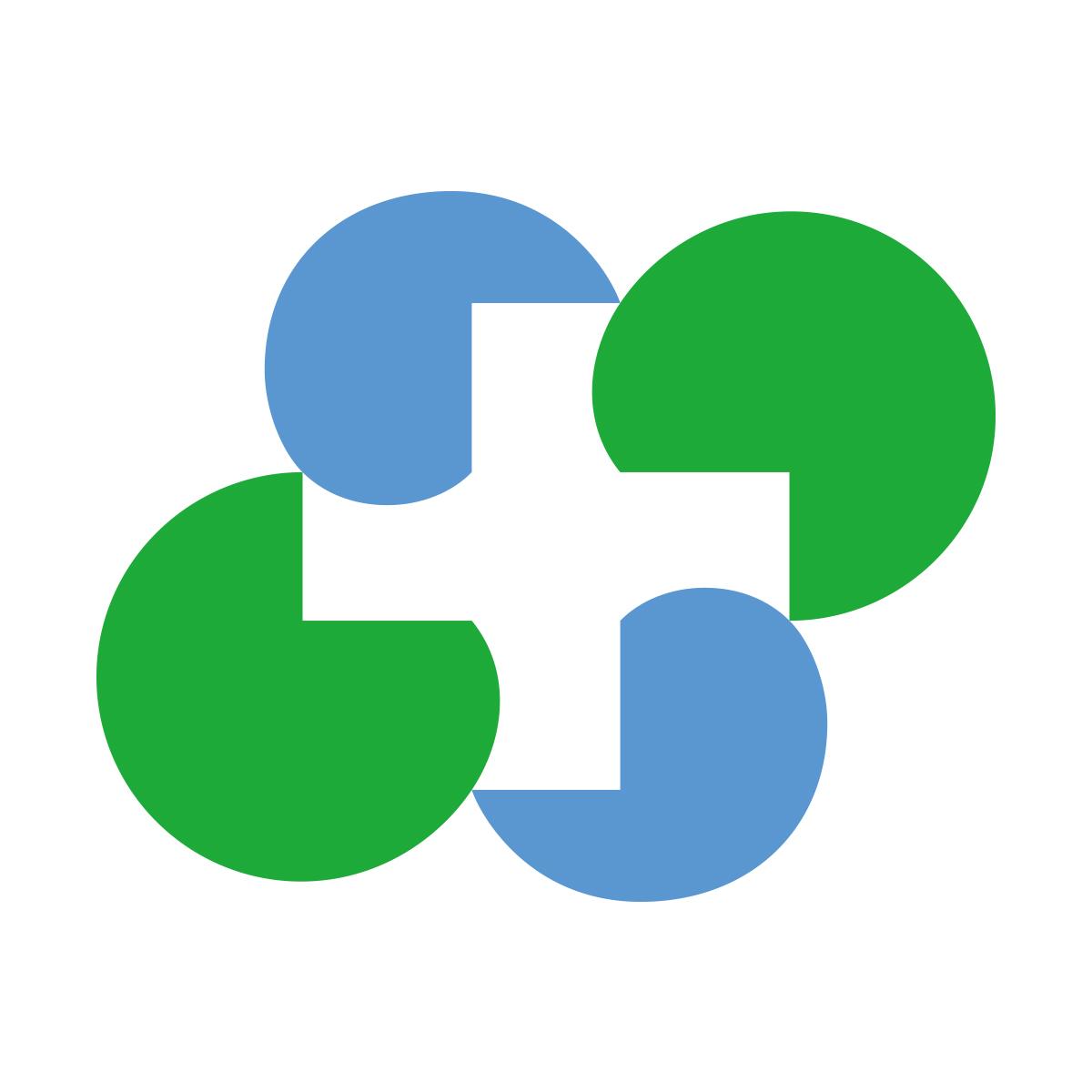 四国の医療介護周辺産業を考える会 ロゴマーク