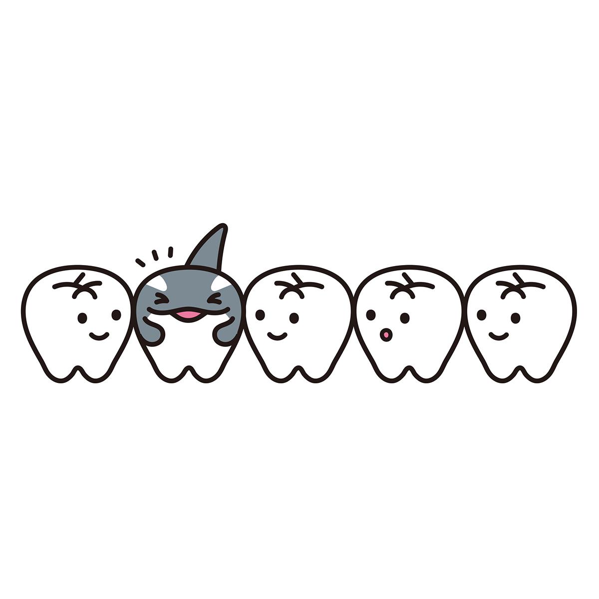 あまの歯科 キャラクター